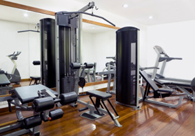 Basement Exercise Room in Birmingham