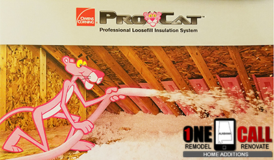 Owens Corning Certified Attic Insulation Contractor